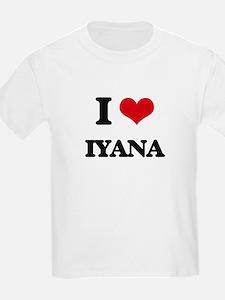 I Love Iyana T-Shirt