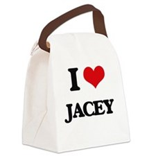 Funny Jacey Canvas Lunch Bag