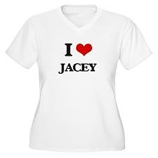 I Love Jacey Plus Size T-Shirt
