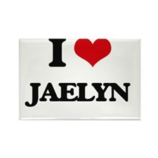 I Love Jaelyn Magnets