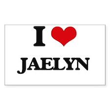I Love Jaelyn Decal