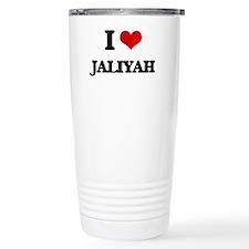 I Love Jaliyah Travel Mug