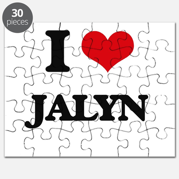 I Love Jalyn Puzzle