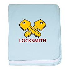 LOCKSMITH baby blanket