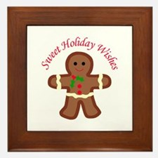 HOLIDAY APPLIQUE Framed Tile