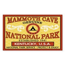 Mammoth Cave National Park Rectangle Stickers