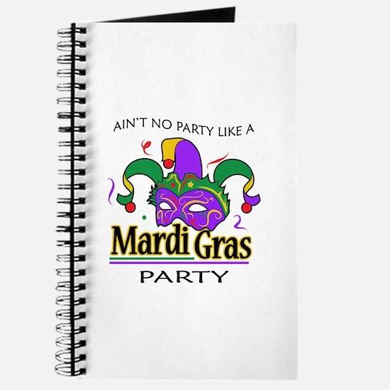 NO PARTY LIKE MARDI GRAS Journal