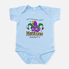NO PARTY LIKE MARDI GRAS Body Suit