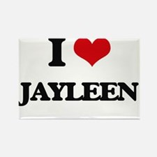 I Love Jayleen Magnets