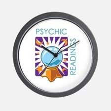 PSYCHIC READINGS Wall Clock