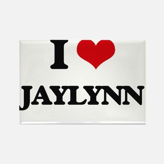 I Love Jaylynn Magnets