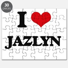 I Love Jazlyn Puzzle