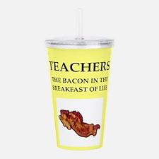 teacher Acrylic Double-wall Tumbler