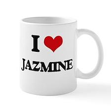 I Love Jazmine Mugs