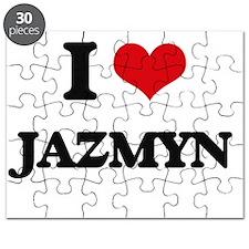 I Love Jazmyn Puzzle