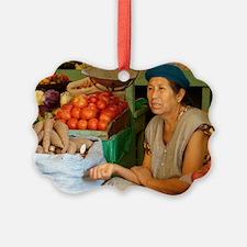 Jungle Market Ornament