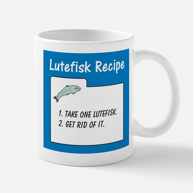 Cute Lutefisk Mug