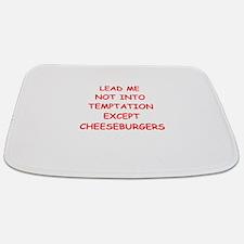 cheeseburger Bathmat