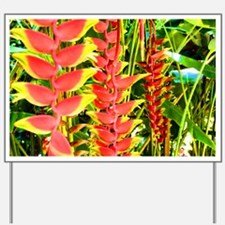 Tropical Yard Sign