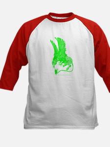 Hippogriff (Green) Kids Baseball Jersey