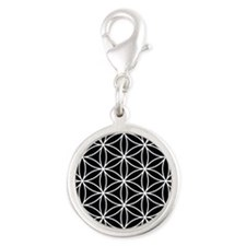 Flower of Life Lg Ptn WB Charms