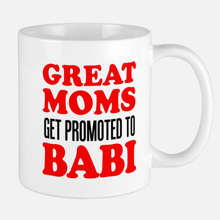 Promoted To Babi Drinkware Mugs