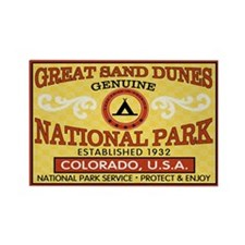 Great Sand Dunes National Park Rectangle Magnet