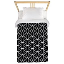 Flower of Life Ptn WB Twin Duvet