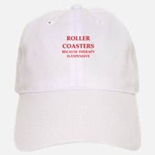 roller coaster Baseball Baseball Cap