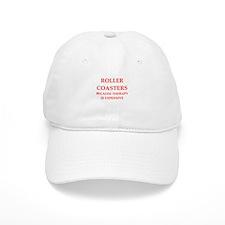 roller coaster Baseball Cap