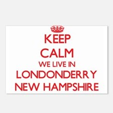 Keep calm we live in Lond Postcards (Package of 8)