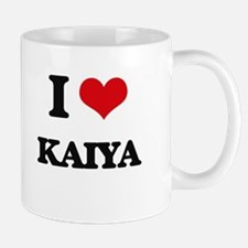 I Love Kaiya Mugs