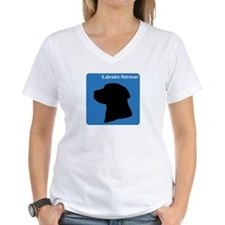 Labrador Retriever (clean blu Shirt