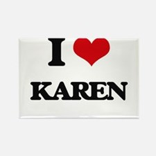 I Love Karen Magnets