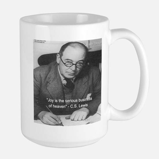 CS Lewis On Joy Mugs