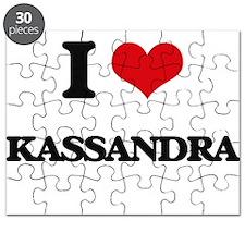 I Love Kassandra Puzzle