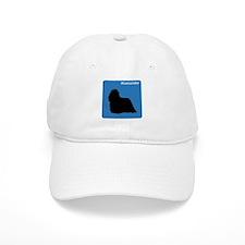 Komondor (clean blue) Baseball Cap