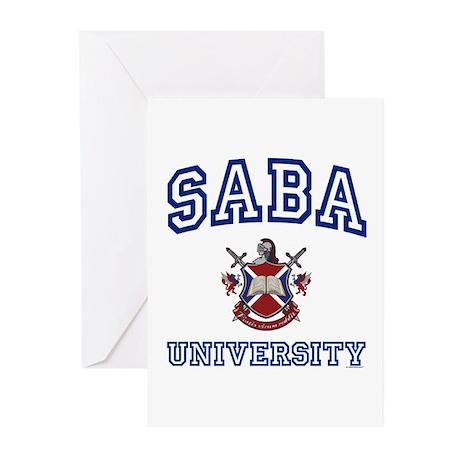 SABA University Greeting Cards (Pk of 10)
