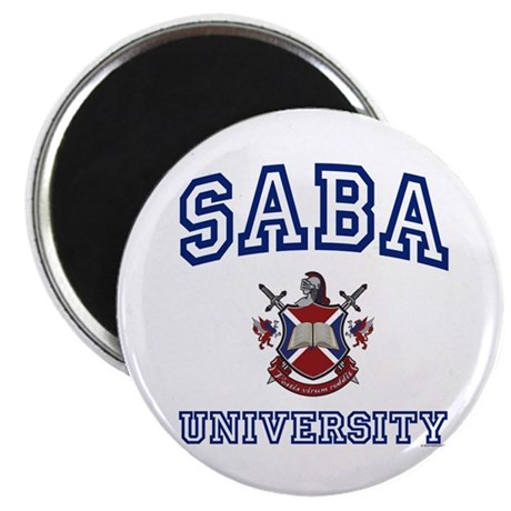 SABA University Magnet