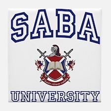 SABA University Tile Coaster