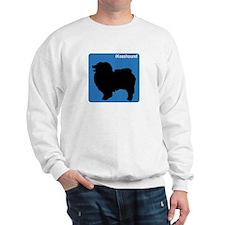 Keeshound (clean blue) Sweatshirt