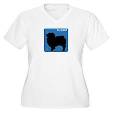 Keeshound (clean blue) T-Shirt