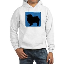 Keeshound (clean blue) Hoodie