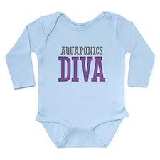 Aquaponics DIVA Long Sleeve Infant Bodysuit