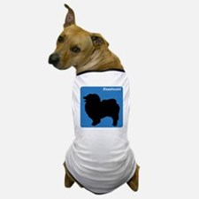 Keeshound (clean blue) Dog T-Shirt