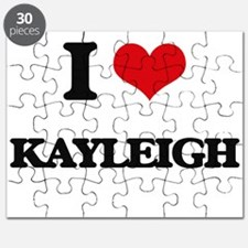 I Love Kayleigh Puzzle