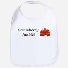 Strawberry Junkie Bib