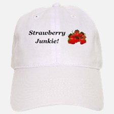 Strawberry Junkie Baseball Baseball Cap