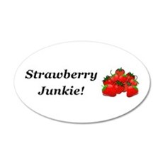 Strawberry Junkie Wall Decal
