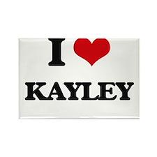 I Love Kayley Magnets